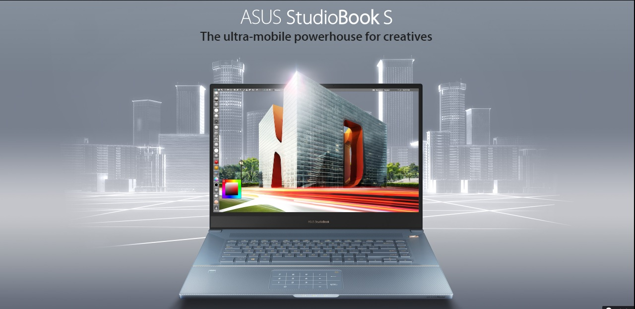 Asus StudioBook S – The New Unstoppable Computing That Makes You Can Work Anywhere