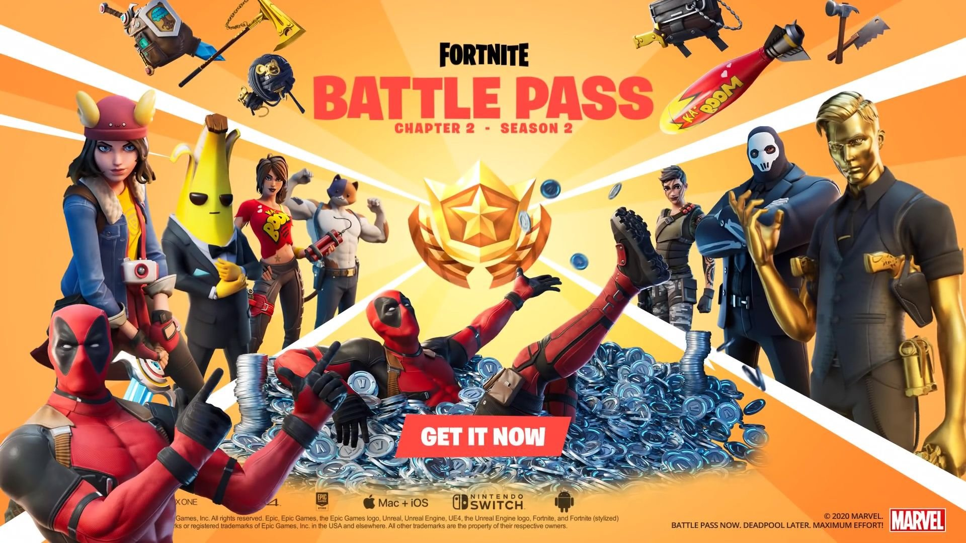 Fortnite Season 2 Game is Now Officially Released