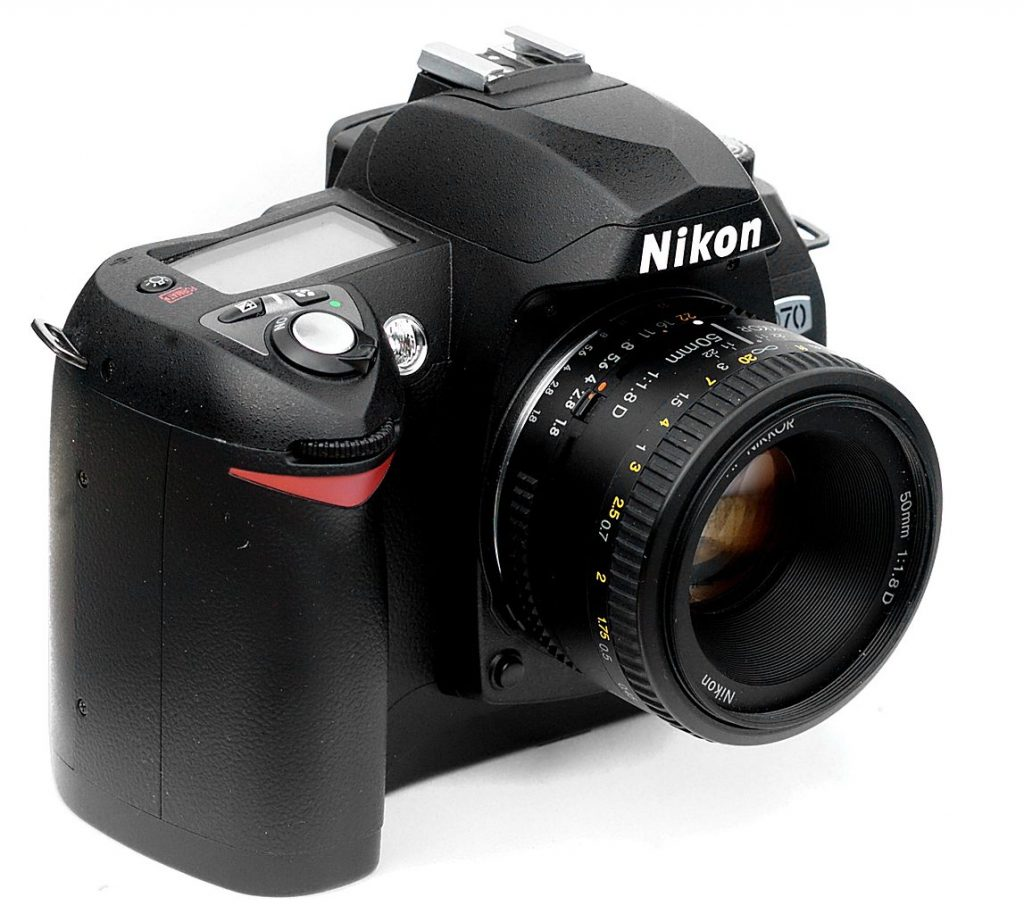 Nikon D70 with 50mm