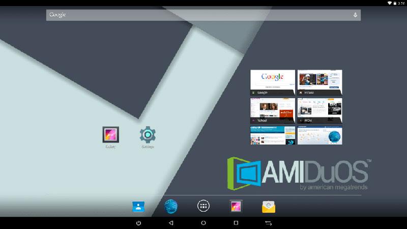 AMIDuOS Android Emulator