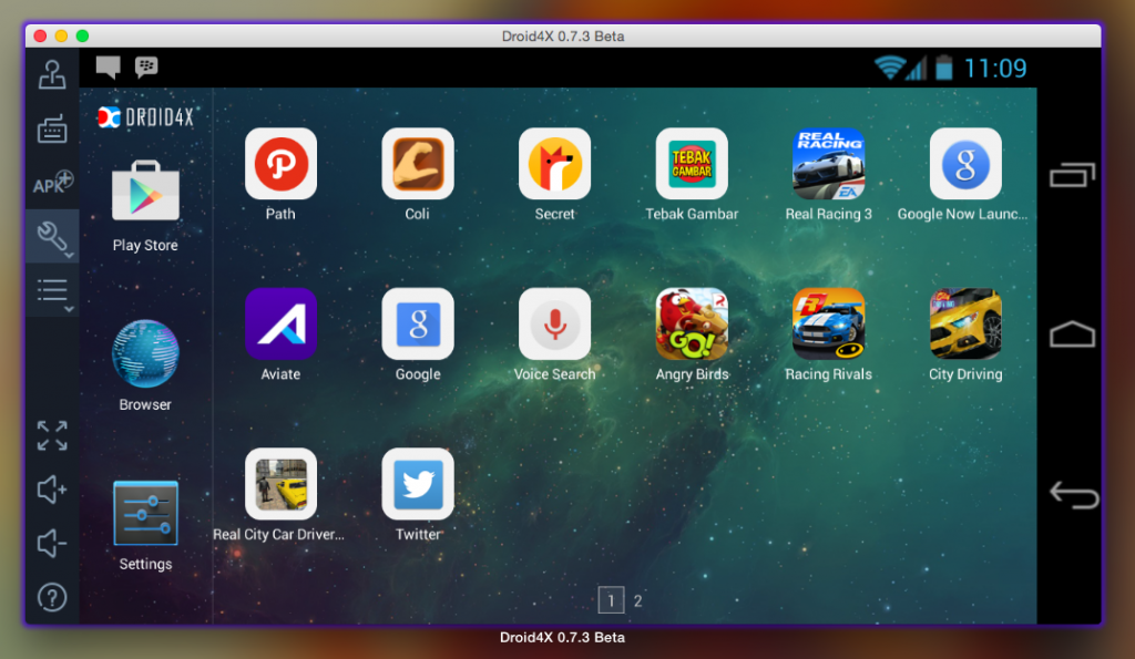 Droid4X Android Emulator