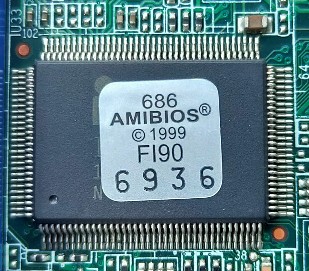 AMIBIOS Chipset that contains BIOS Firmware
